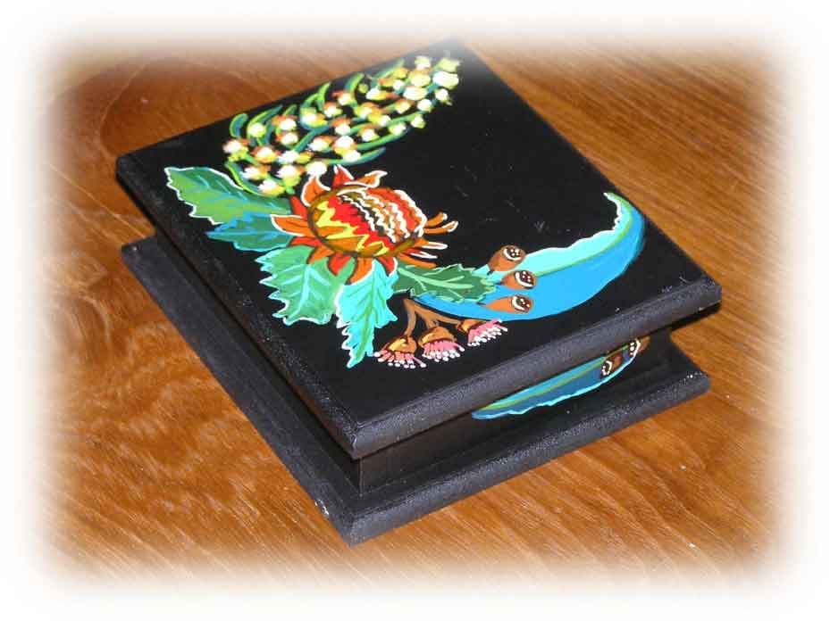 BJ's Fok art Jewelry box